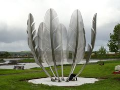 Irish sculpture in Cork says Thanks to the American Indians who helped them during the Irish Famine