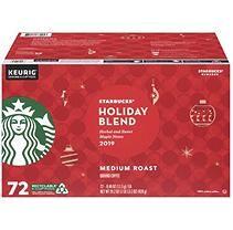 Starbucks Christmas Flavored Kcups 2021 Starbucks Holiday Blend K Cups Medium Roast 72 Ct In 2021 Starbucks Holiday Blend Holiday Blend Holiday Coffee