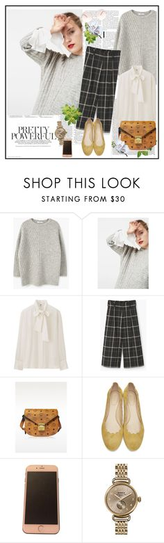 """""""Fall 2016♥♥♥"""" by marthalux ❤ liked on Polyvore featuring MANGO, Uniqlo, MCM, Shinola, Chloé, Victoria Beckham, StreetStyle, fallstyle, falltrend and fallwinter2016"""