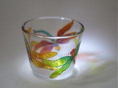 Svietnik na čajovú sviečku - Dragonfly 3 by E.G.ART - SAShE.sk - Handmade Svietidlá a sviečky