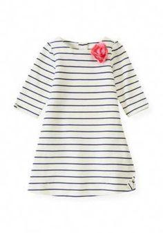 a58684612 Janie and Jack Classic Garden 12 10 12 Striped Tunic Dress size 3 Vestidos