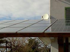 Impianto fotovoltaico ad OSIMO da 5,00 kWp su tettoia - 20 moduli BRANDONI in SILICIO CRISTALLINO da 235 Wp