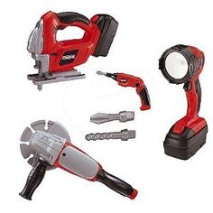 My First Craftsmen Power tools, Light, sander, jigsaw and bendable screw driver $59.95