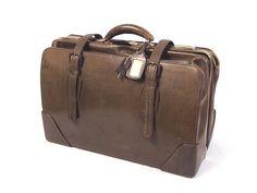 昭和レトロ アンティーク『古い革のバッグ カバン 革鞄』当時物_画像1