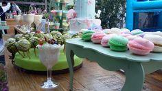 Candy bar candy bufet macarrones