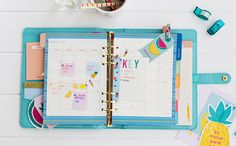 Set up your Calendar pages and organise your kikki.K Planner