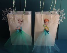 Items similar to 10 Pieces Frozen Fever Elsa Anna Paper Tutu Birthday Favor Goody Gift Bags on EtsyFrozen Elsa Anna Party Favor Bags…these are the BEST Disney Frozen Fun Food Party Ideas! Frozen Elsa Anna Party Favor Bags…these are the BEST Disne Frozen Fever Party, Frozen Birthday Party, Birthday Favors, 3rd Birthday Parties, Frozen Party Bags, Frozen Gift Ideas, Frozen Favor Bags, Birthday Ideas, Frozen Bag