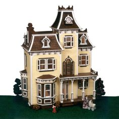 Greenleaf Beacon Hill Dollhouse Kit - 1 Inch Scale - Collector Dollhouse Kits at Hayneedle