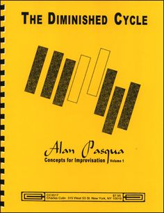 Jamey Aebersold Jazz: The Diminished Cycle - Concepts for Improvisation Vol. 1