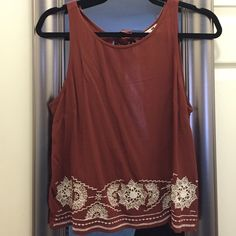 PacSun [LA HEARTS] Open back tank top. SIZE M PacSun [LA HEARTS] Open back tank top. SIZE M. Scoop neck tank that is a soft gauze like material. The back is completely open and ties at the neck to adjust. This color is so in right now! Going to be sad seeing this shirt go. Only worn a few times. Great condition! PacSun Tops Tank Tops