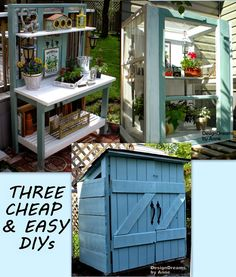 DesignDreams by Anne: Three Cheap & Easy DIYs You Can Build in an Afternoon