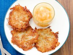 Get this all-star, easy-to-follow Slightly Adapted Mamo's Potato Pancakes recipe from Duff Goldman