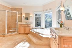 Love gorgeous baths? You'll really love this on in 81401 Alexander! #GovernorsClubRealty #GovernorsClub #ChapelHillRealEstate