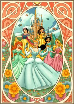 Disney Princesses ~ Cody Reynolds