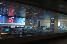 Smart glass lit by Christie DHD800 projectors