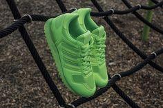 "adidas ZX 700 ""Neon Green"" - EU Kicks: Sneaker Magazine"