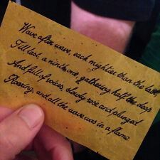 """Kate Bush Before The Dawn - this was the """"confetti"""" from the show."""