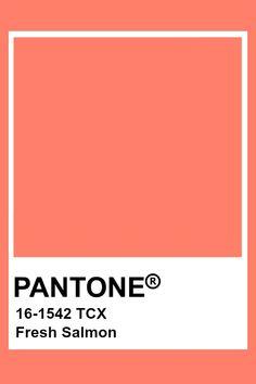 Pantone Fresh Salmon