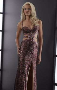 Elegant Sequined Gown by Jasz Couture 5062