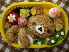 Rilakkuma Lunch box http://japanesekawaii.storenvy.com/