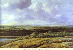 Philips Köninck. View of Gelderland. 1655. Oil on canvas. Thyssen-Bornemisza Collection, Lugano-Castagnola, Switzerland