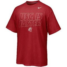 Nike USC Trojans 2012 Chrome Package Fast Is Faster T-Shirt - Cardinal  #UltimateTailgate #Fanatics