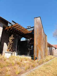 mathews and associates architects Wood Structure, Storey Homes, Pretoria, Residential Architecture, Farming, Beams, South Africa, Facade, Building A House