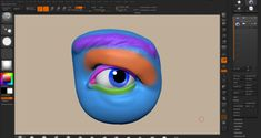 Zbrush Tutorial - Sculpting eyelids in zbrush