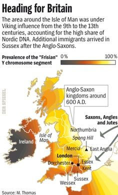 The Anglo-Saxon Invasion: Britain Is More Germanic than It Thinks - SPIEGEL ONLINE