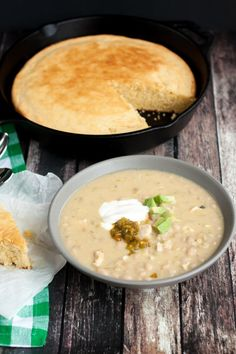 White Bean Chicken Chili is something the whole family will enjoy. Make it tonight!