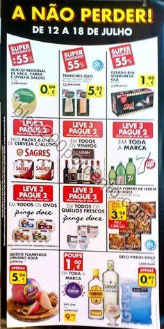"""Novo folheto PINGO DOCE """"A não perder"""" de 12 a 18 julho - http://parapoupar.com/novo-folheto-pingo-doce-a-nao-perder-de-12-a-18-julho/"""