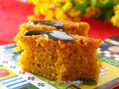 From Our (Brazilian) Home to Yours: Brazilian carrot cake