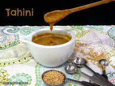 Ponto de Rebuçado Receitas: Tahini (Pasta de sésamo)