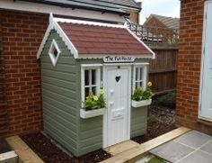 wooden playhouse
