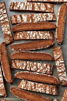 Homemade Gingerbread Biscotti Recipe