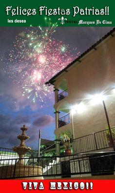 Fiestas Patrias en Hotel Marques De Cima, Nogales Sonora