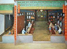Chinesische Malerei, Chinese Medicine, c.1830