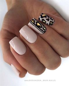 Newest and Hottest Matte Nail Art Designs Ideas .- Newest and Hottest Matte Nail Art Designs Ideas … – # Hottest - Black Nail Designs, Nail Designs Spring, Acrylic Nail Designs, Cheetah Nail Designs, Simple Nail Art Designs, Spring Nail Colors, Spring Nail Art, Pastel Colors, Pink Color