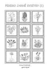 Jarné kvietky Spring Art, Portfolio, Clay Jewelry, Kindergarten, Crafts For Kids, Mandala, Quilts, Education, Flowers