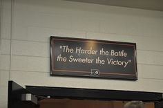 flyers locker room sign This great quote reminds me of the battles that are won and lost not only on the wrestling mat but in life. Football Locker Signs, Volleyball Locker Decorations, Locker Room Decorations, Soccer Locker, Football Banner, Alabama Football, American Football, Volleyball Quotes, Hockey Quotes