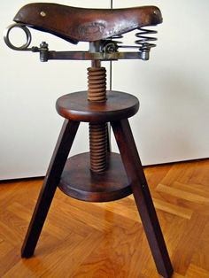 Industrial bike chair