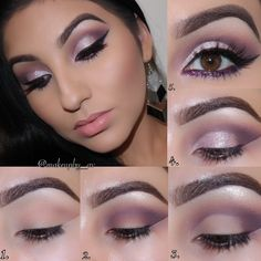 Purple Smokey Eye by adele1588 on the #Sephora Beauty Board