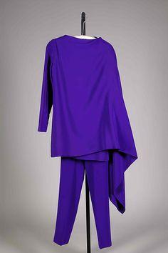 * Evening ensemble silk 1965 Madame Grès