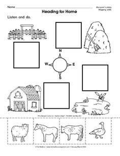 math worksheet : results for map skills  kindergarten  guest  the mailbox  : Kindergarten Skills Worksheets