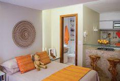 Quitinete alugada de 22 m² para morar e trabalhar