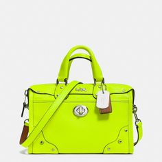 The C.o.a.c.h. Rhyder 24 Satchel In Pebble Leather from Coach