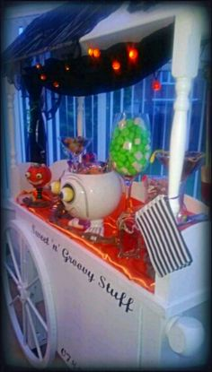 #Halloween Party Sweet Cart Candy Buffet Hire #Manchester #strawbs #snakes #yellowbellies #pumpkin #lollipops #tangtastic #fizzy #jelly #babies #haribo #sweetcart #hire #event #celebration #sweet #cart #Candy #red #black #white #vintage #Buffet #party #wedding #manchester #sweetngroovystuff #christening #21st #40th For all occasions, make your party memorable www.facebook.com/sweetngroovystuff