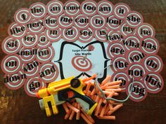 Target Practice Site Words Activity Set by LegacyLearning on Etsy