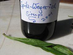 Spitzwegerich-Sirup