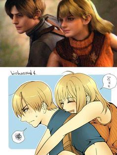 Leon x Ashley in Resident Evil 4
